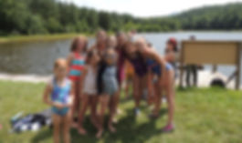 Lutheran Summer Camp with lake swimming, canoeing, fishing