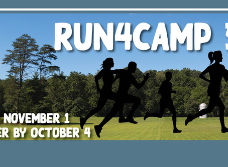 Join the Run4Camp 5K on November 1st!