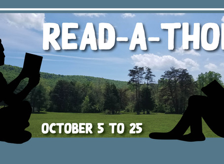 Join the Caroline Furnace Read-a-Thon, October 5 to 25