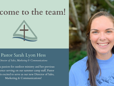 Our New Director of Sales, Marketing & Communications
