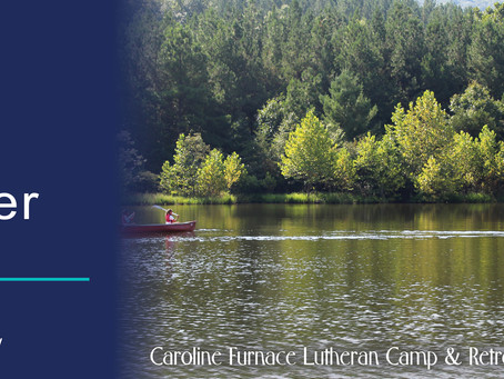 Thank You for Your Continued Support of Your Outdoor Ministry