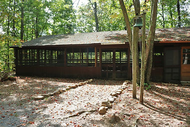 sukkah pavilion large group community space meeting facility scout troops group camping outdoor cooking Northern Virginia