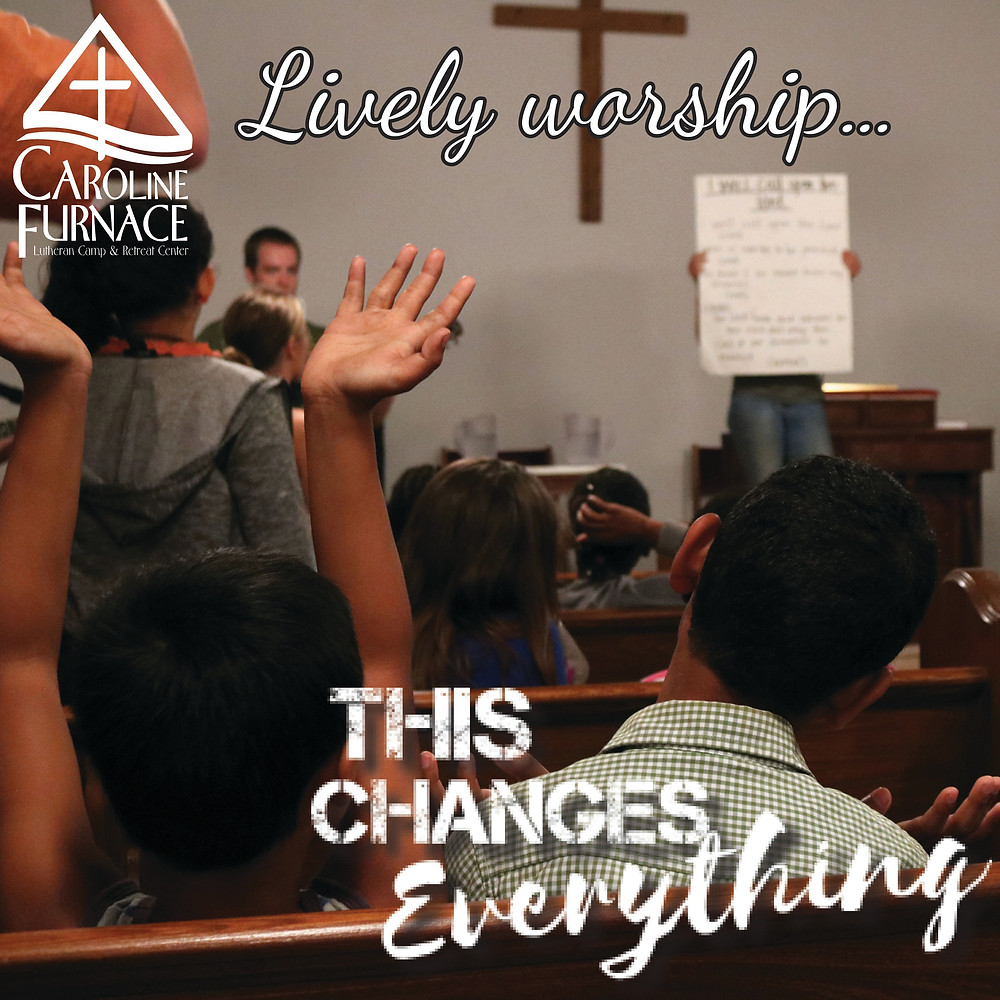 Lively worship...This Changes Everything
