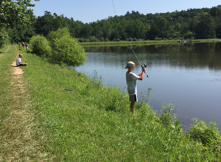 Camp Feature: Fishing Camp