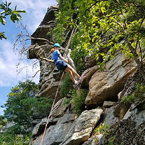 rock climbing teambuilding Massanutten Mountains Virginia Shenandoah Valley adventure outdoor education