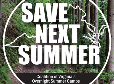 Save Next Summer with the Coalition of Virginia's Overnight Summer Camps