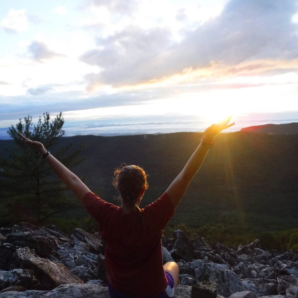 backpacking adventure in the Massanutten Mountains
