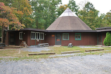 Moyer Lodge large dining hall meeting facility heated food service provided