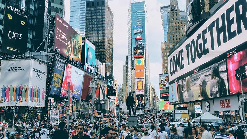 Times Square, Supersite | Calendar Month