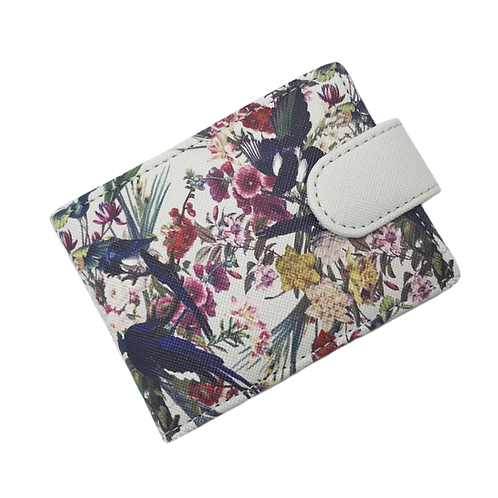 Treasure Garden ID & Travel Card Case | Cool Grey
