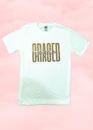 Graced For This Tee - White