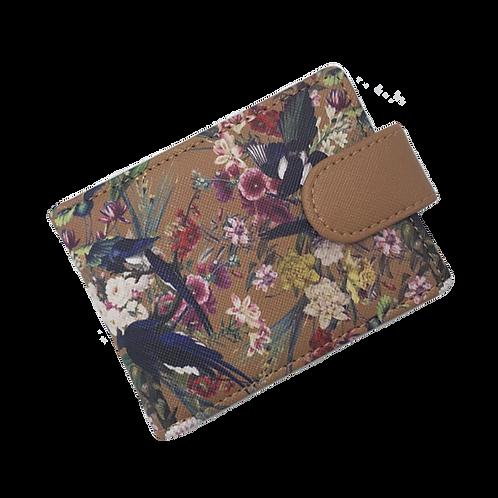 Treasure Garden ID & Travel Card Case  Hazelnut