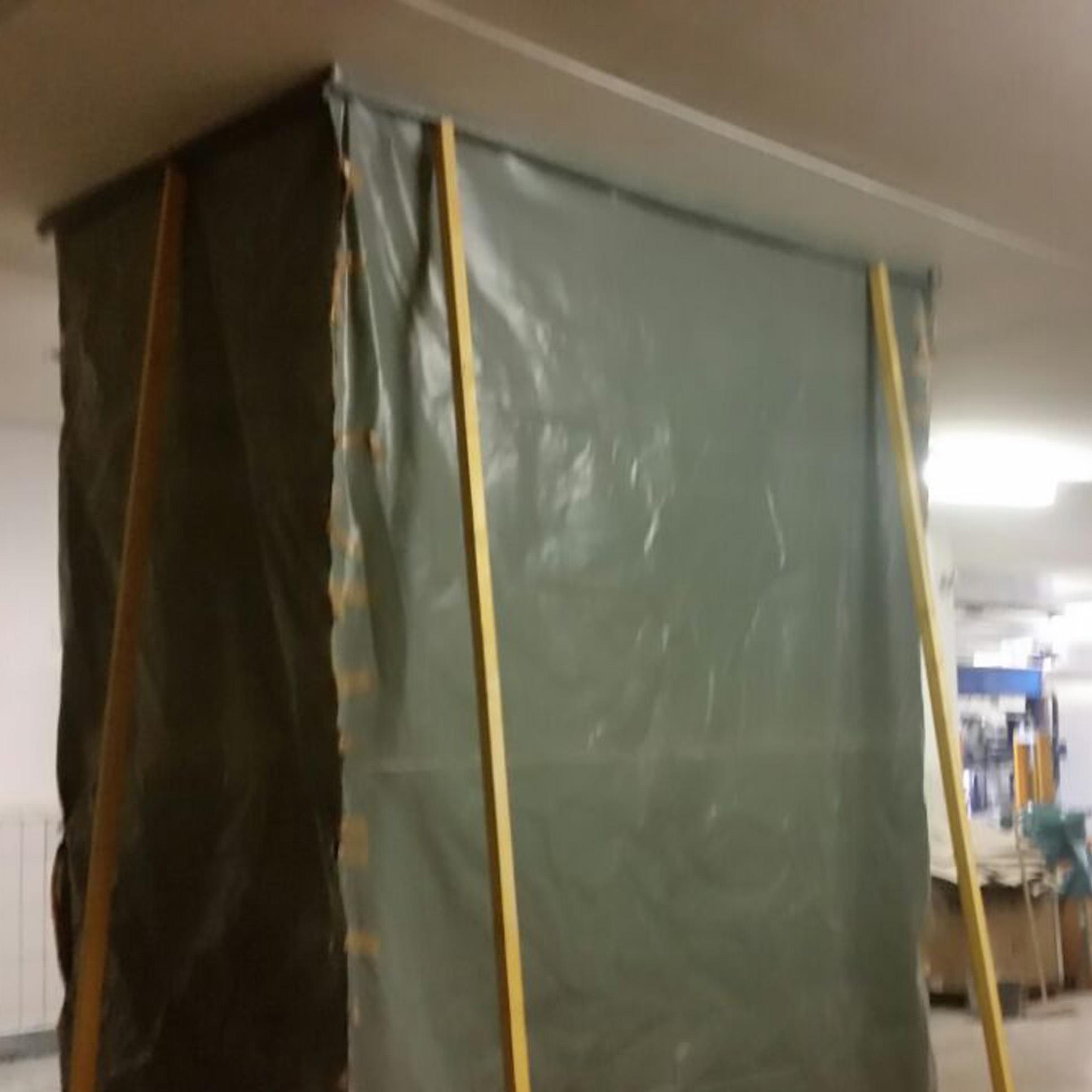 Milchzentrale Itzehoe - Herstellen von Deckendurchbrüchen