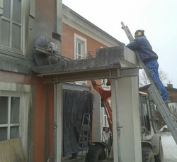 Balkonabriß