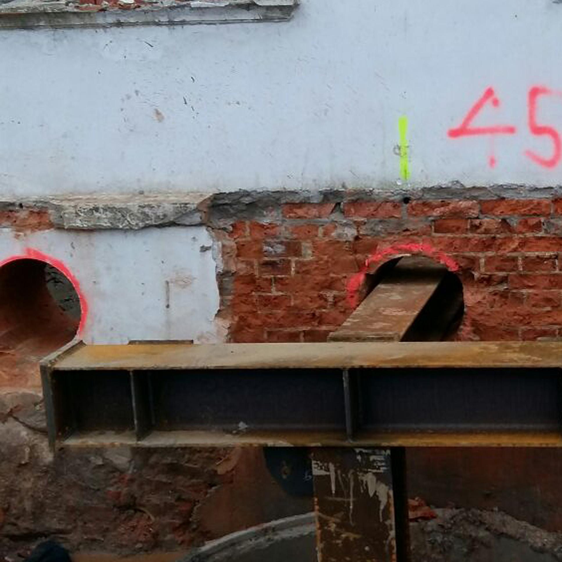 Heiligendamm- Villensanierung - Vorbereitungen zum Einbau von Tiefgaragen