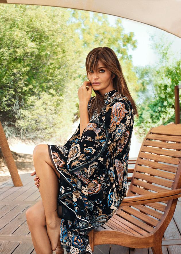 Helena Christensen - Harper's Bazaar Arabia