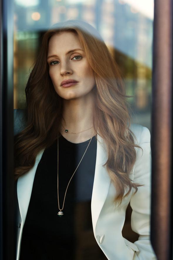 Jessica Chastain - Vogue Arabia