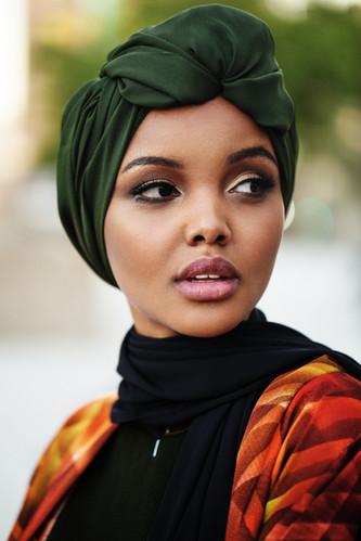 Hlima Aden - Vogue Arabia