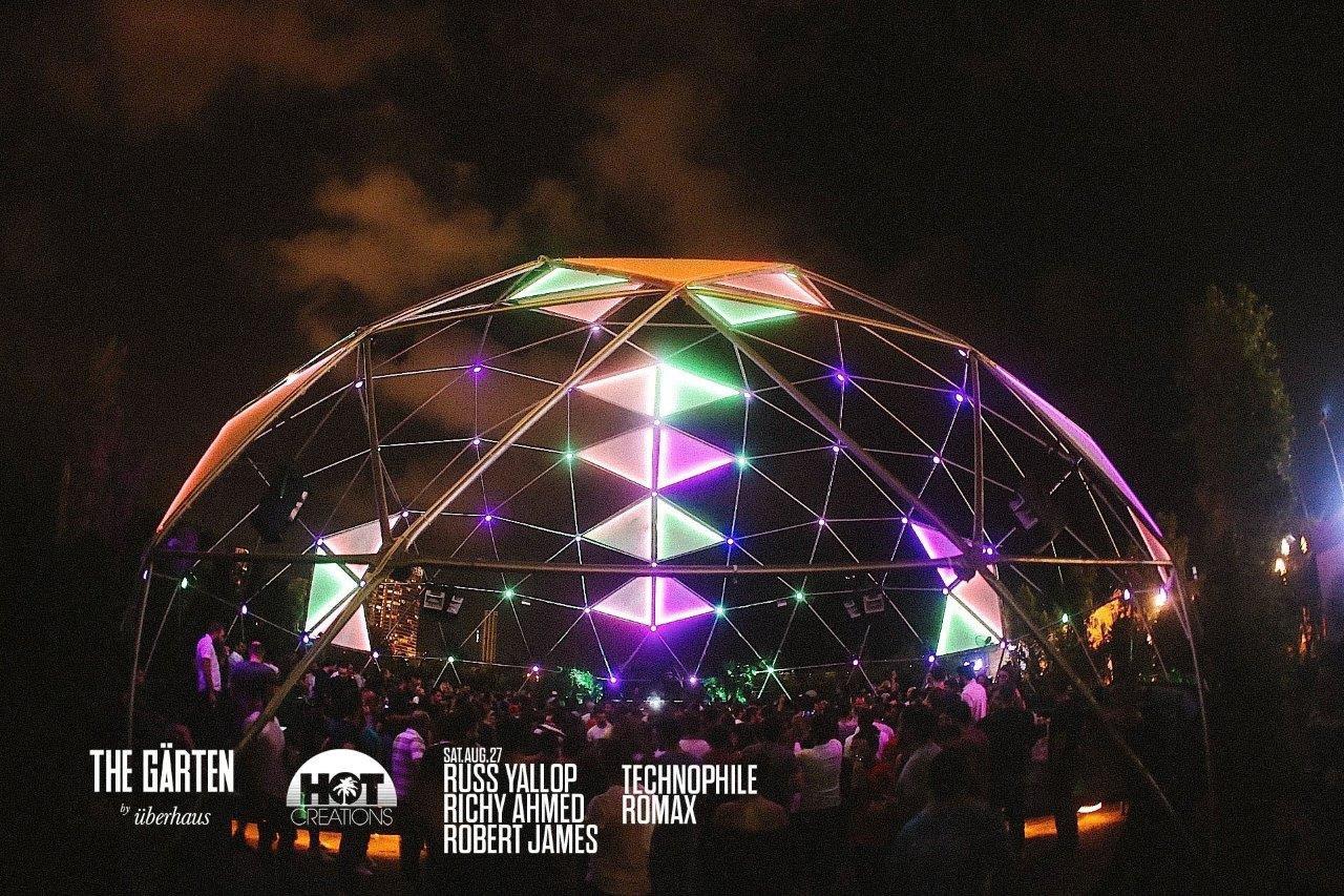 The Garten Dome lighting | Beirut - Lebanon