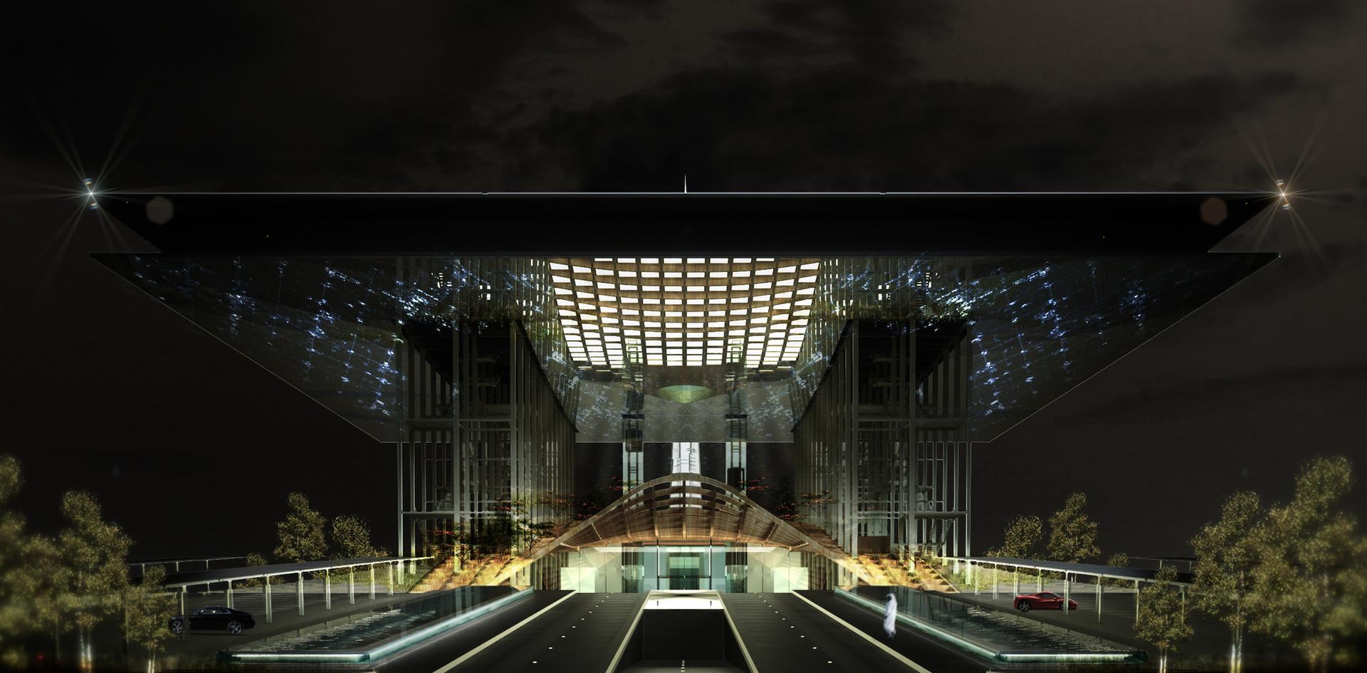 JEC Sales Center - Kingdom Tower   Architectes Anonymes   Jeddah - Saudi Arabia