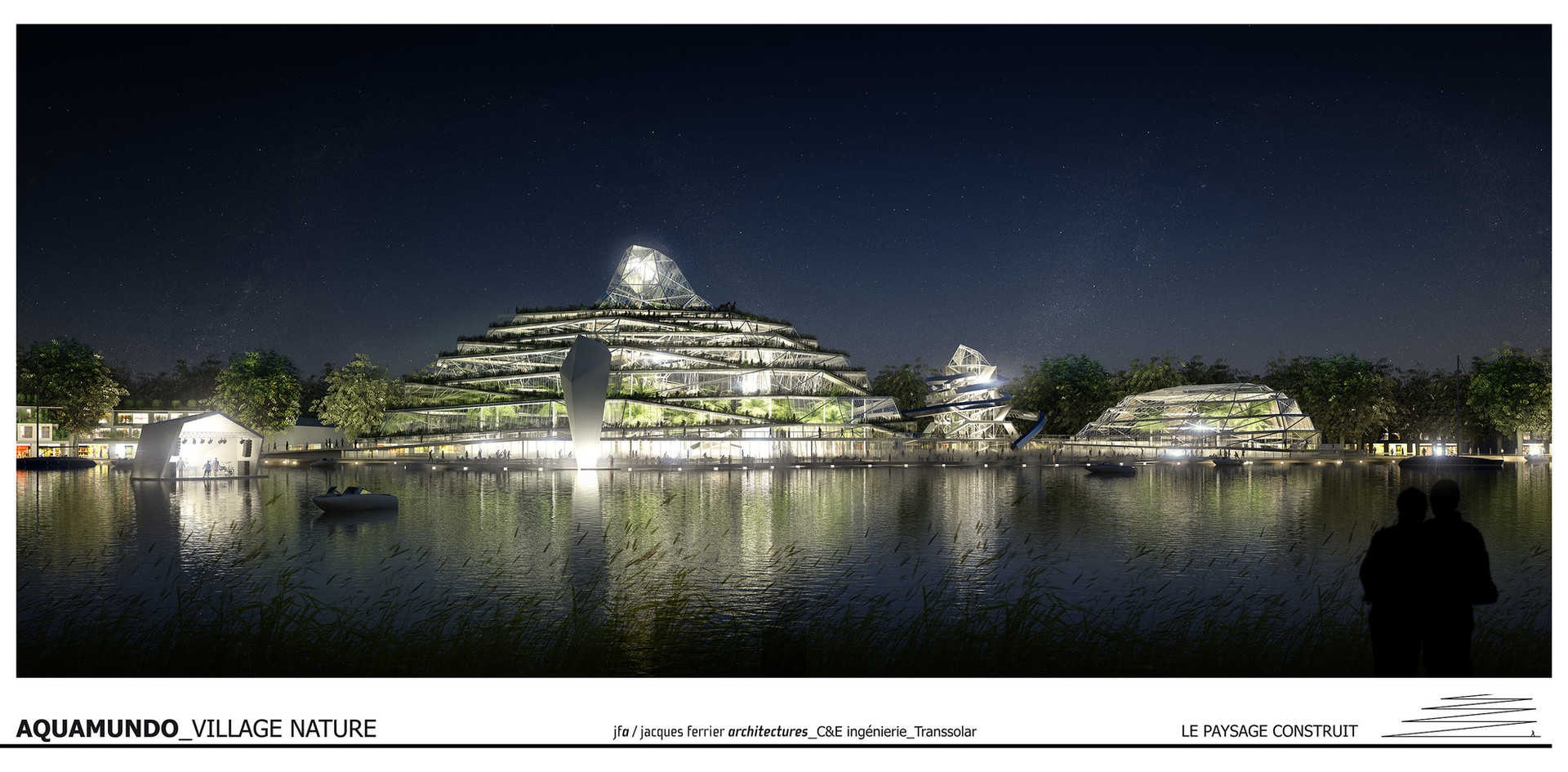 Aquamundo - Village Nature   Jacques Ferrier Architectures   Paris - France