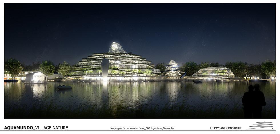 Aquamundo - Village Nature | Jacques Ferrier Architectures | Paris - France