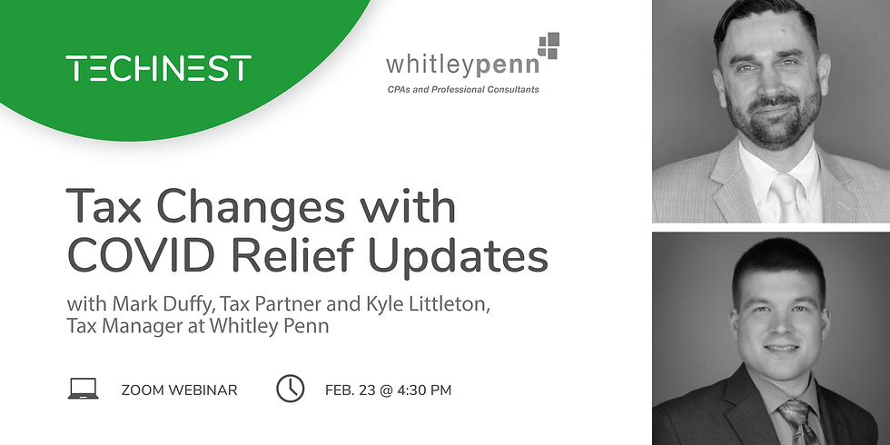 Tax Changes with Relief Updates