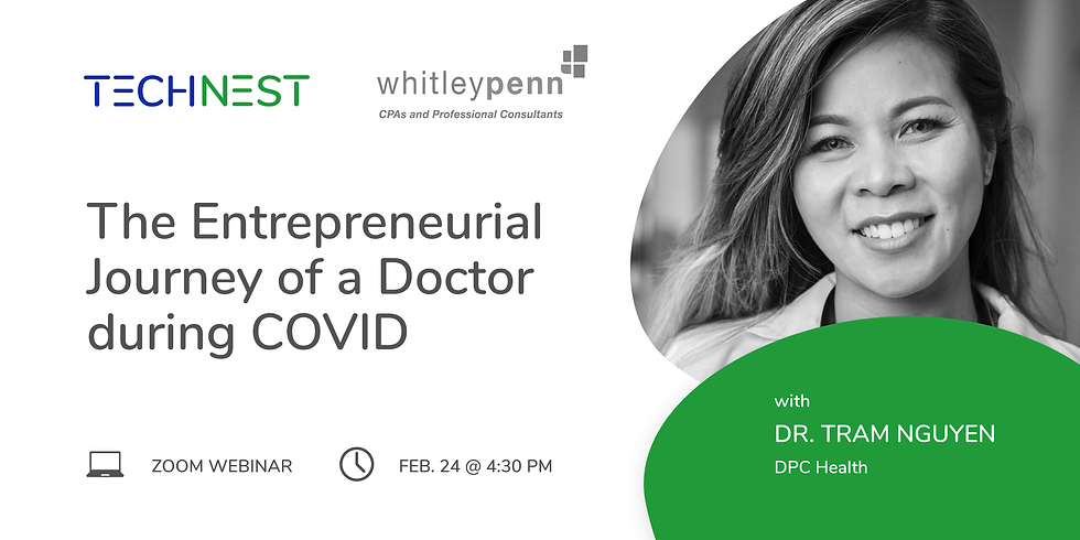The Entrepreneurial Journey of a Doctor during COVID