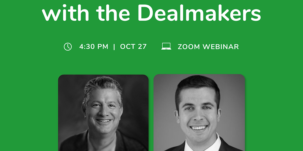 TechNest: Inside the Deal with the Dealmakers
