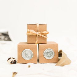 Silver Wax Seal Options