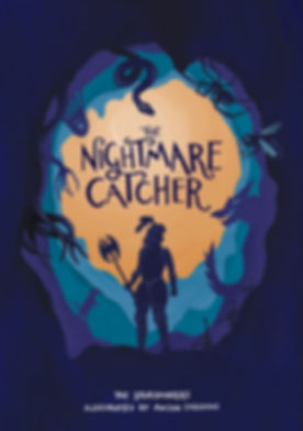 final front cover The Nightmare Catcher_