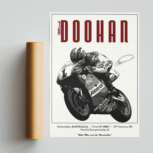 Mick Doohan Classic 500GP Print MotoGP