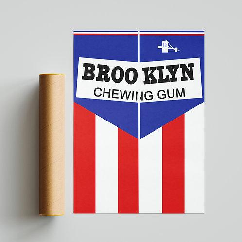 Brooklyn Chewing Gum Cycling Team Jersey Print