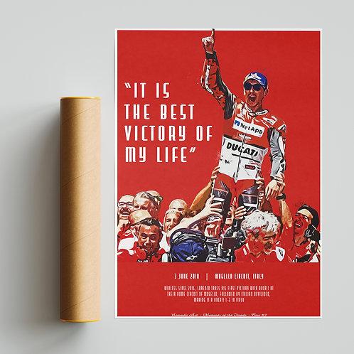 Jorge Lorenzo Ducati Print MotoGP