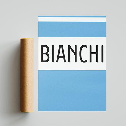 Bianchi Cycling Team Jersey Print Cycling