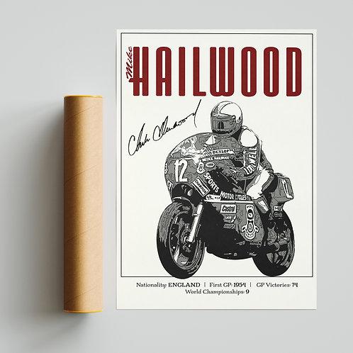 Mike Hailwood Classic GP Print MotoGP TT