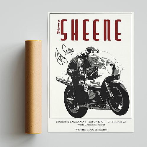 Barry Sheene Classic 500GP Print MotoGP
