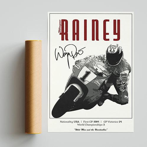Wayne Rainey Classic 500GP Print MotoGP