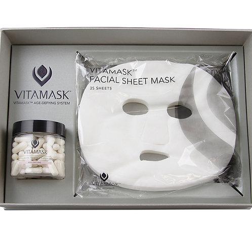Vitamask Facial Sheet Mask and Capsules