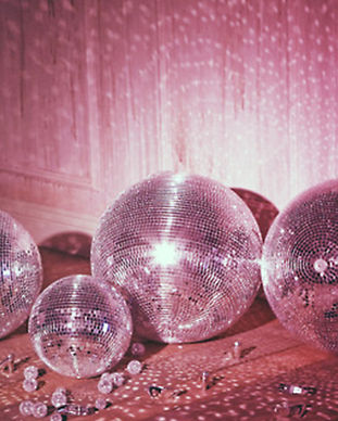disco ball aesthetic