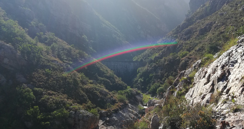 At the end of the rainbow - Fernkloof