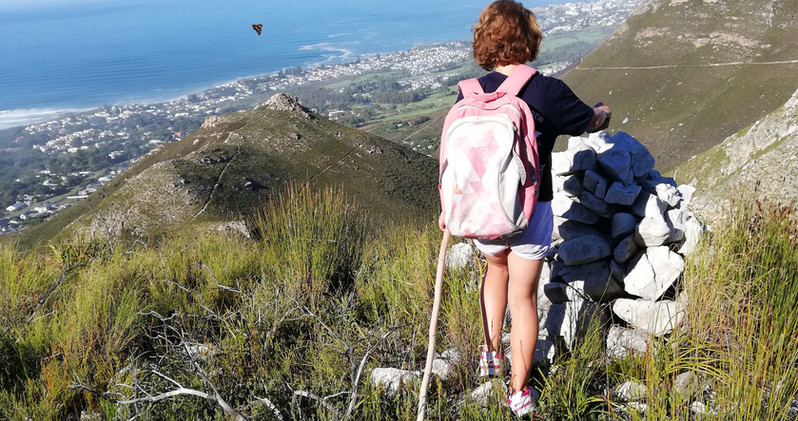 View from the top - Hermanus