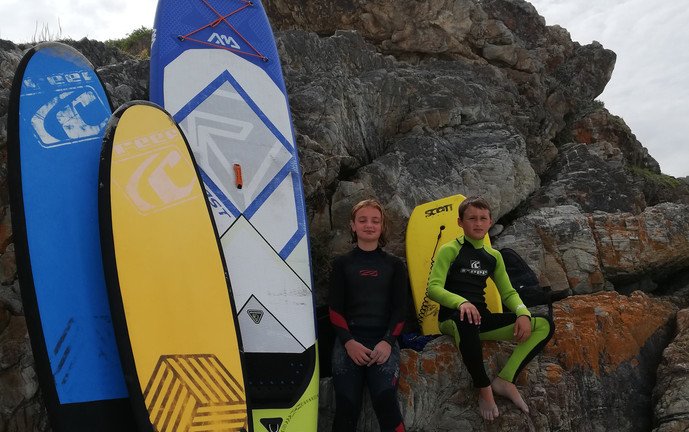 Wave Warrior session - surfboards, body board, hand planes and even a SUP