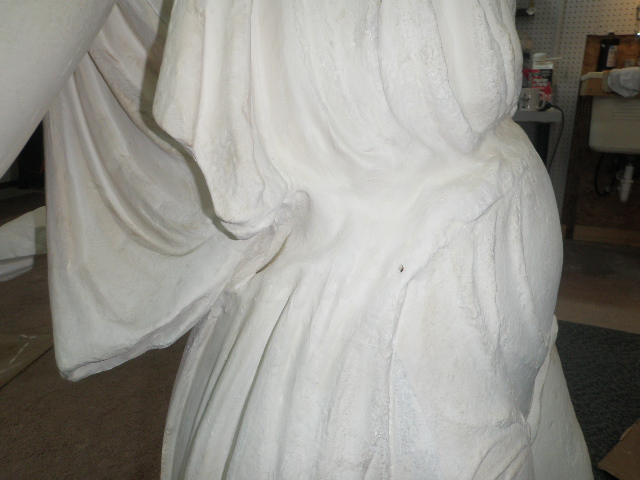 Torso section of multi-part Nike