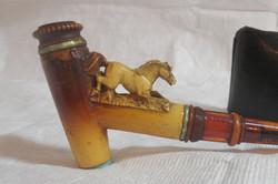 Ivory and bakelite pipe