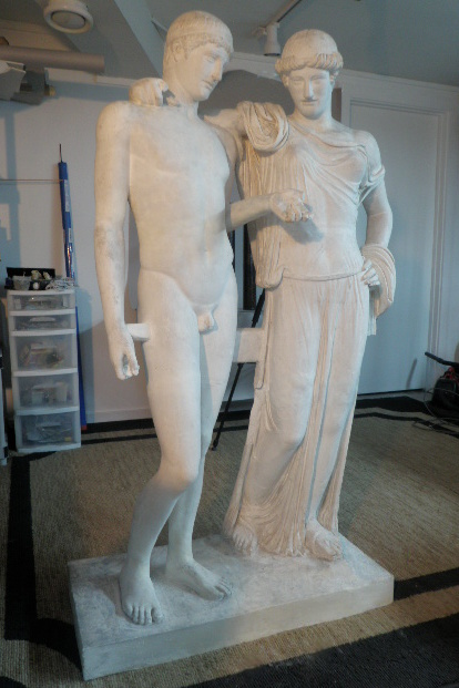 Cast of classical Orestes & Elektra