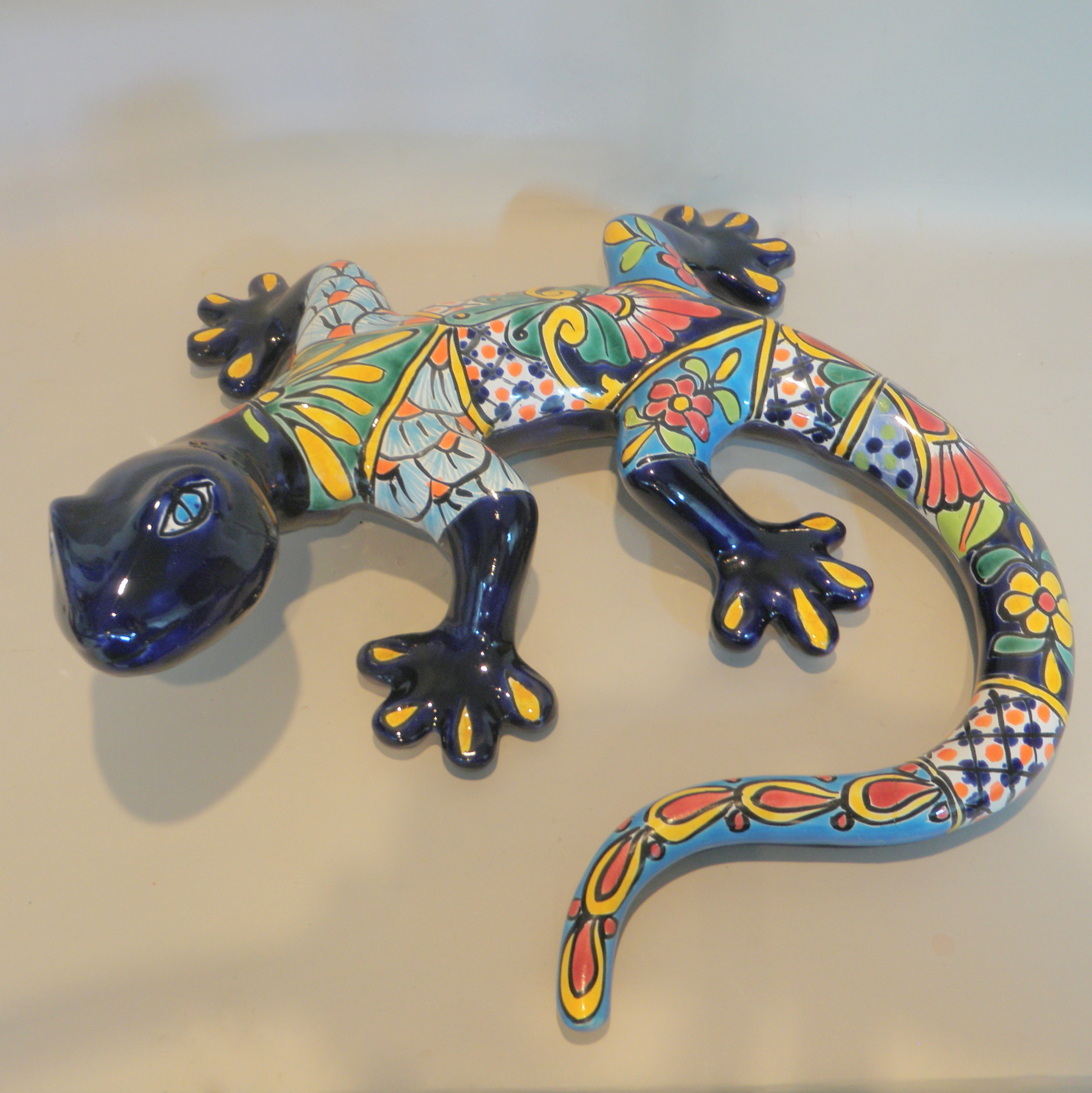 Mexican lizard after treatment