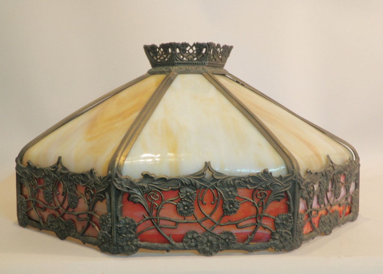 Lampshade after treatment