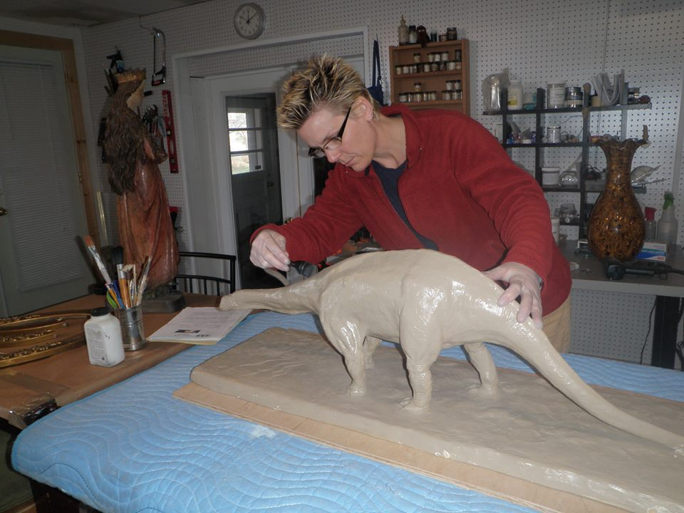 19th c. Brontosaurus teaching model