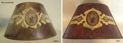 Mica lampshade